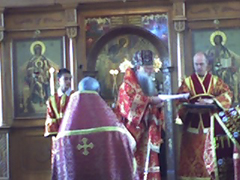 Graduation 2007 at the Cathedral of the Protection of the Mother of God in Des Plaines, Illinois